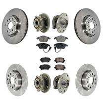 For 12-14 Civic DX /& LX Model Front Rotors Rear Drums Shoes Springs Brake Pads