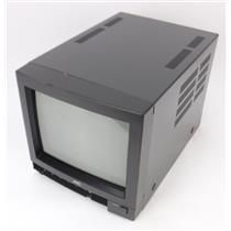 """JVC TM-9U(A) Color Video 9"""" CRT Monitor - TESTED & WORKING"""