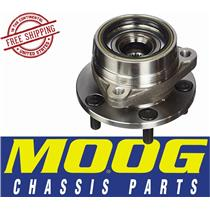 MOOG 513107 Front Wheel Hub and Bearing Assembly 5 Lugs Jeep Cherokee Comanche