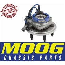MOOG 513233 FRONT HUB AND BEARING ASSEMBLY 04-07 Ford Mercury 5 Lugs w/ABS