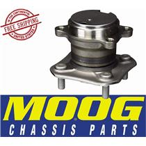 MOOG 512384 HUB AND BEARING ASSEMBLY Rear Left or Right 2007-12 Sentra ABS