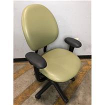 Steelcase 4535331DSW Green Adjustable Office Chair