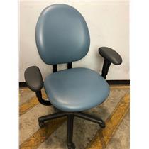 Steelcase 4535331DSW Blue Adjustable Office Chair