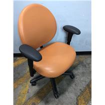 Steelcase 4539331BW Orange Adjustable Wider Office Chair