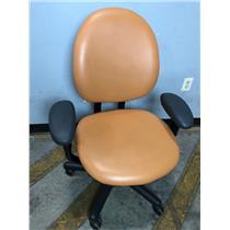 Steelcase 4535331DSW Orange Adjustable Office Chair