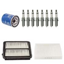 11Pc 8 Spark Plugs Air Cabin & Oil Filters for Honda Civic 1.3L Hybrid 2006-2011