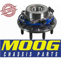 MOOG 515062 FRONT HUB AND BEARING ASSEMBLY 2000-01 Ram 2500 4x4 8 Lug NO ABS