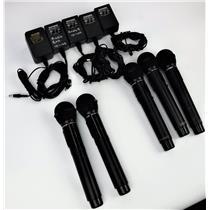 Lot of 5 Audio Enhancement ITH10C IRH-GPc Microphones + 4 AC Adaptors