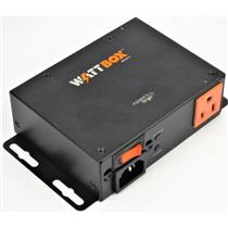 WAttBox WB-200-2 2 Outlet Power Conditioner TESTED AND WORKING