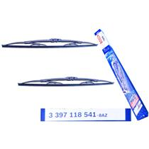 "TWIN PACK BOSCH Windshield Wiper Blade Set 475mm 19"" Front 3397118541"