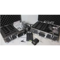 Williams Sound T27 Base Station Transmitter W/ 32x R37 FM Receivers & Hard Case