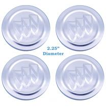 "Set of (4) 2.25"" Diameter Polished 2005-11 Buick Center Caps 9593169"