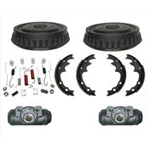 Standard Smaller 9 Inch Drums W Cylinders Shoes & Springs Kit Ford Ranger 83-94
