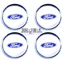 SET (4) 2008-10 EDGE MKX Chrome Centercap 8E5Z-1130-B