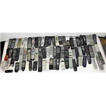 Lot of 100 Various Remote Controls VCR DVD TV Projector #10