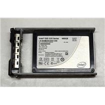 "Intel SSD 520 Series SSDCSC2CW480A3 480GB 2.5"" SATA III 6Gbps w/ R-Series Tray"