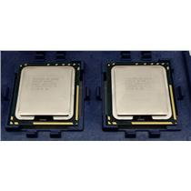 Lot of 2 Intel Six Cores X5650 SLBV3 2.66GHZ/12MB 6.4GT/s LGA1366 Processors