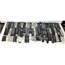Lot of 100 Various Remote Controls VCR DVD TV Projector #14