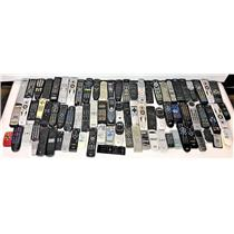 Lot of 100 Various Remote Controls VCR DVD TV Projector #15