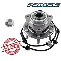 ENVOY EQUINOX SSR TRAILBLAZER FRONT Wheel Hub And Bearing 513188 ABS 6 Lug