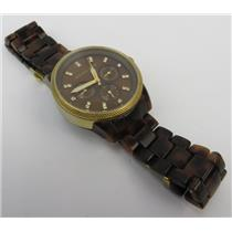 Michael Kors Ritz MK-5038 Gold-Tone W/ Acrylic Tortoiseshell Band Women's Watch