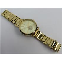 Michael Kors MK-4330 Portia Gold-Tone 5ATM Women's Watch W/ Gold Tone Dial
