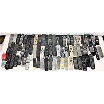 Lot of 100 Various Remote Controls VCR DVD TV Projector #18