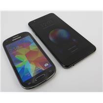 Dealer Lot Of 2 Android Phones Samsung Galaxy Light & LG K30 - Metro PCS
