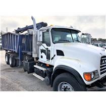 2005 Mack CV713 Granite Rolll Off Grapple Truck 12.0L L6 Diesel