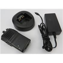 Vertex Standard VX-231-G7-5 16CH UHF 450-512MHz Two-Way Radio W/ Charger
