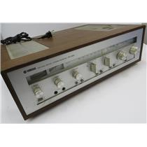 VINTAGE Yamaha CR-620 Natural Sound AM/FM Stereo Receiver - TESTED & WORKING