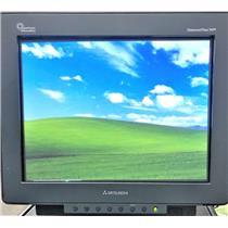 "Mitsubishi DPLUS74SB-BK Diamond Plus 74SB Super Bright 17"" CRT VGA Monitor"