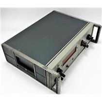 HP Hewlett Packard 3440A Digital Nixie Tube Voltmeter w 3445A AC/DC Range Unit