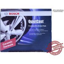 **Bosch BC758 QuietCast Premium Ceramic Front Disc Brake Pad Set**