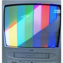 """ESA EC313E 13"""" CRT Color TV Television w VCR Combo Unit"""