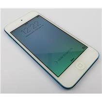 Apple iPod Touch A1421 5th Gen 16GB Blue Media Player W/ iOS 9.3.5