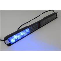 Whelen SLPMMRB SlimLighter 12-Volt Super-LED Lightbar / Dash Light - RED / BLUE