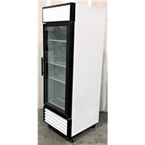 True GDM-23 Glass Door Refrigerator TESTED AND WORKING