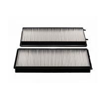 2 Cabin Air Filter for BMW 745 760i 760Li 2002-2007 OEM Reference # 64116921018