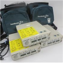 Lot Of 3 Respironics Smart Monitor 2 PS Apnea Monitor - 1A00 ERROR - FOR PARTS