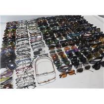 Large Lot Of Fashion Eyeglasses & Sunglasses -Various Brands- 165 Glasses Total