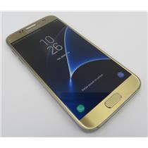 Samsung Galaxy S7 SM-G930V 32GB Gold Android Phone W/ Good Verizon IMEI #