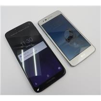 Dealer Lot Of 2 Android Phones LG Aristo & Motorola Moto G7 Power - Metro PCS