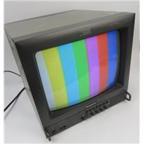 "Panasonic BT-S1360Y 13"" Color CRT BNC Video Monitor - GREAT FOR RETRO GAMING"