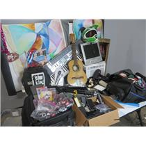 PICKUP ONLY Lot of Miscellaneous Electronics & Non Electronic Lost & Found Items