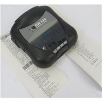 Zebra RW 420 Mobile Rugged Thermal Barcode Label Receipt Printer R4D-0UBA000N-10