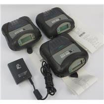 Lot Of 3 Zebra RW 420 Mobile Thermal Printers R4D-0UBA000N-10 - SEE DESCRIPTION