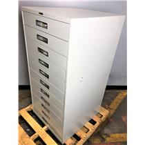 Russ Bassett 11 Drawer Index Cabinet