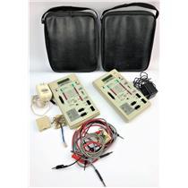 Lot of 2 ExBert XBMON-C 51603 T1 Monitor Telecom Signal Test Equipment
