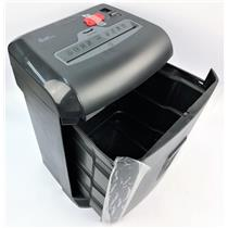 Quill Brand 10-Sheet Cross-Cut Paper Media Security Shredder